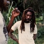 With Peter Tosh
